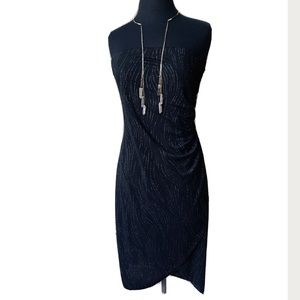 Chesley Black and Silver Dress